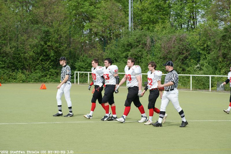 Gameday 29.04.2012 | Varlets @ Berlin Thunderbirds