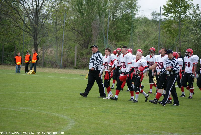 Gameday 06.05.2012 | Crusaders @ Wernigerode Mountain Tigers