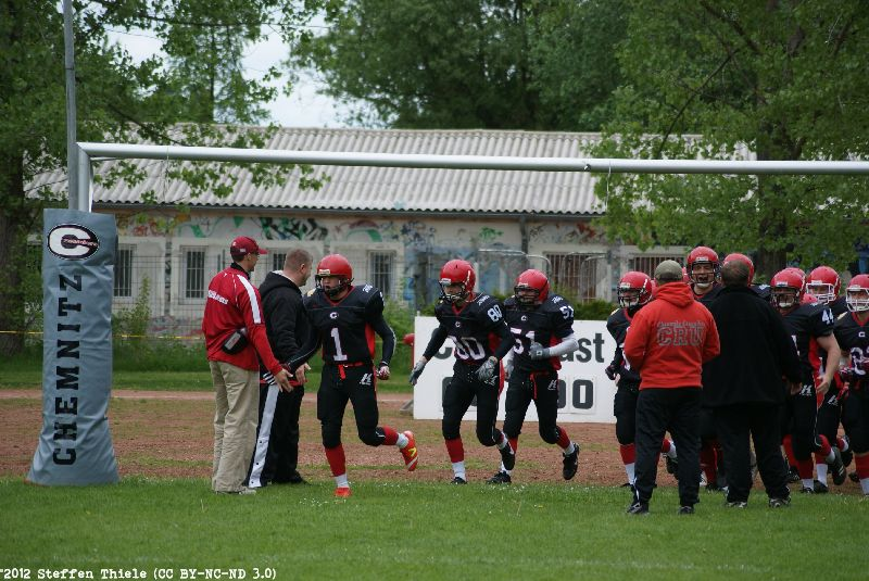Gameday 13.05.2012 | Crusaders vs. Radebeul Suburbian Foxes