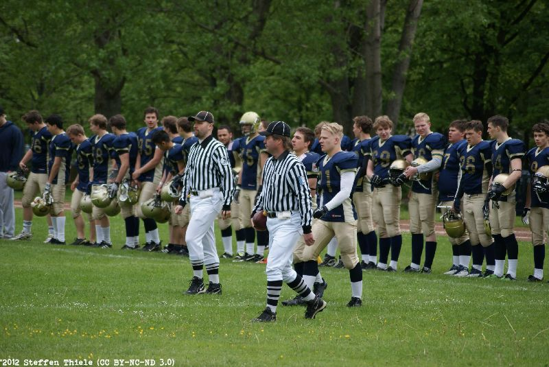 Gameday 13.05.2012 | Varlets vs. Dresden Junior Monarchs
