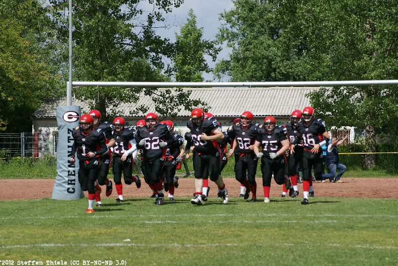 Gameday 02.06.2012 | Crusaders vs. Erkner Razorbacks
