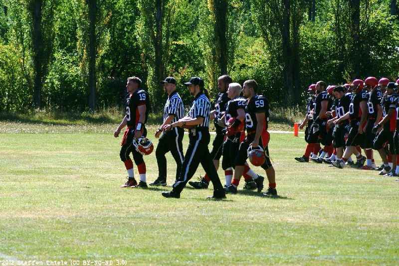 Gameday 19.08.2012 | Crusaders vs. Berlin Bullets