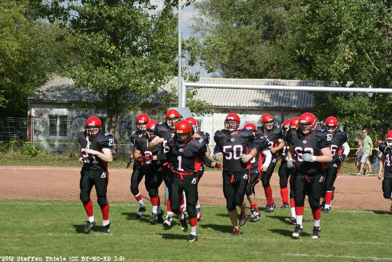 Gameday 08.09.2012 | Crusaders vs. Wernigerode Mountain Tigers