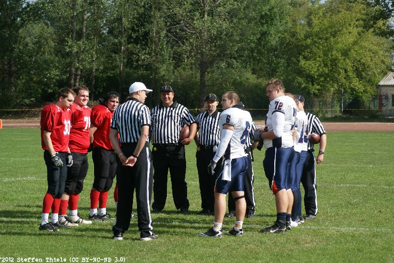 Gameday 08.09.2012 | Varlets vs. Prag Lions