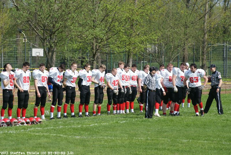 Gameday 05.05.2013 | Varlets vs. Berlin Kobras Juniors