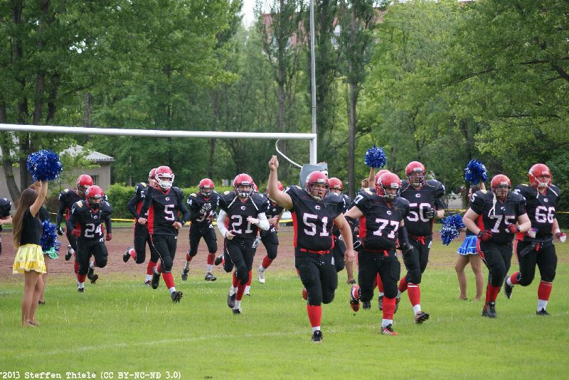 Gameday 25.05.2013 | Crusaders vs. Wernigerode Mountain Tigers