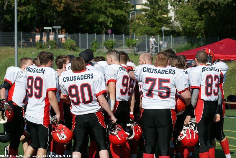 Gameday 14.09.2013 | Crusaders @ Erkner Razorbacks