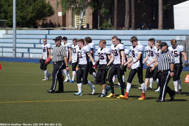 Gameday 25.05.2014 | Varlets @ Potsdam Royals
