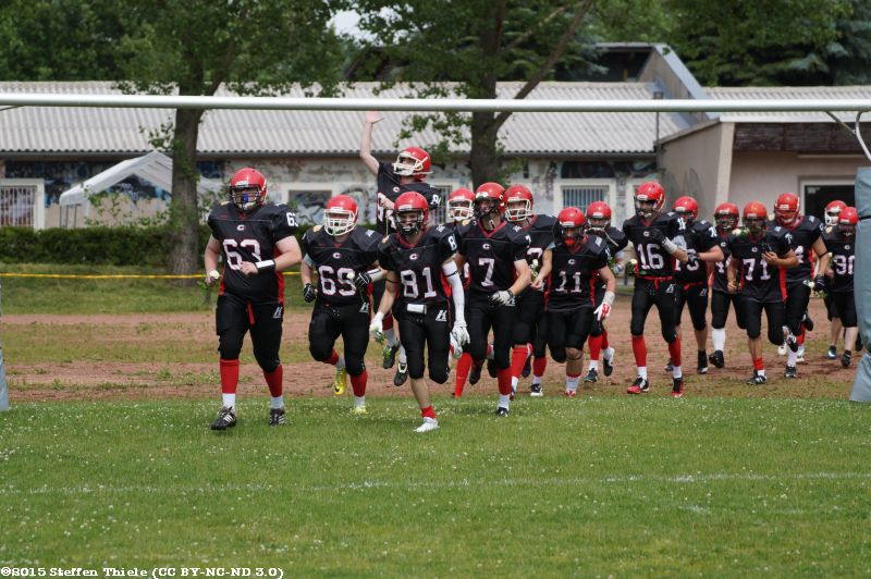 Gameday 14.06.2015 | Crusaders vs. Wernigerode Mountain Tigers