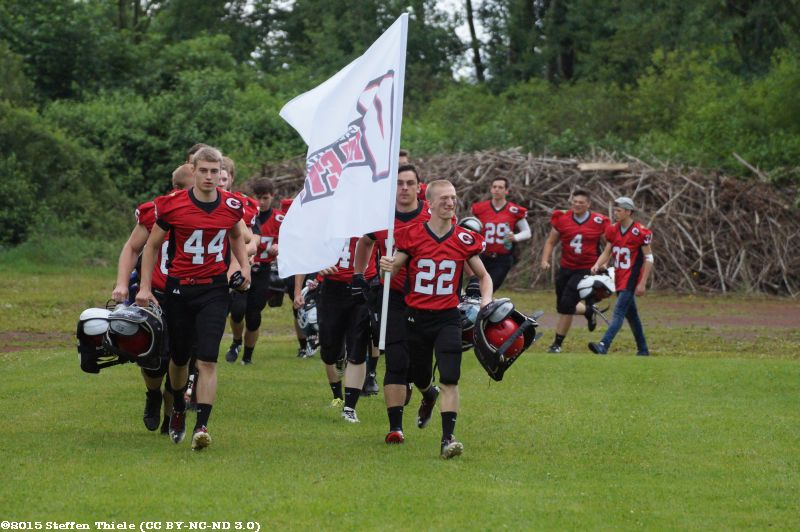 Gameday 27.06.2015 | Varlets vs. Jenaer Hanfrieds U19