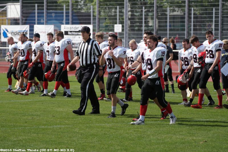 Gameday 30.07.2016 | Crusaders @ Erfurt Indigos