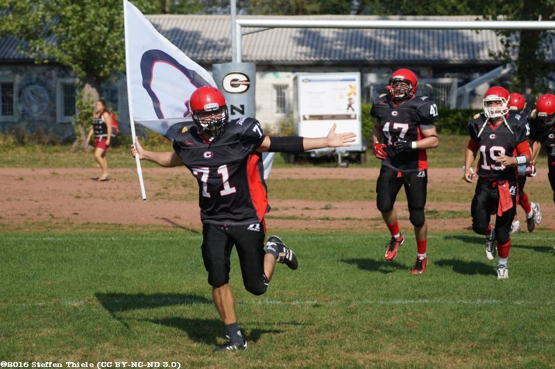 Gameday 11.09.2016 | Crusaders vs. Spandau Bulldogs