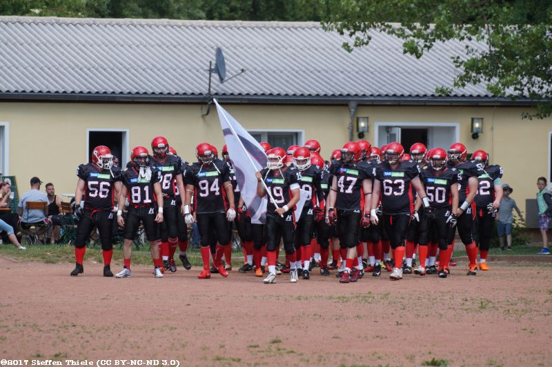 Gameday 18.06.2017 | Crusaders vs. Saalfeld Titans