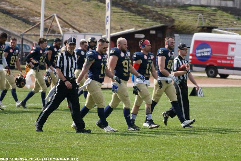 Preseason 07.04.2019 | Crusaders @ Nürnberg Rams